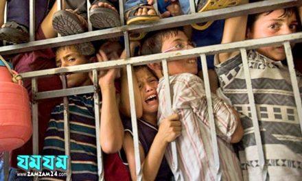 নিরপরাধ ফিলিস্তিনি বাচ্চারা ইসরাইলি কারাগারে দুর্বিষহ জীবন কাটাচ্ছে