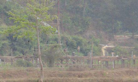 তুমব্রু সীমান্তে ব্রিজ নির্মাণ করছে মিয়ানমার