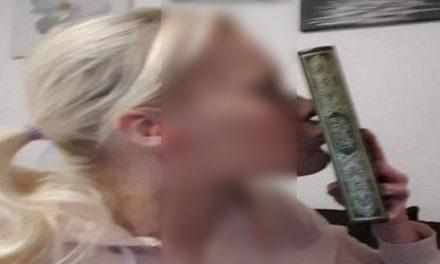 চুমু খেয়ে কুরআন অবমাননার প্রতিবাদ জানালেন সুইডিশ নারী